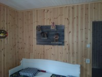 Wandbord van sloophout