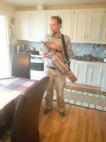 Georg met de harp