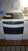 het laatste maaltje op onze oude oven