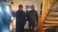 Bart en Richard klaar voor de badtunna