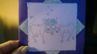 de trouwkaart van Mats en Helen
